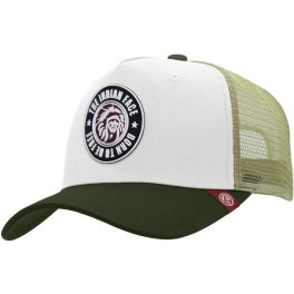 The Indian Face Born To Be Free White / Green Gorra