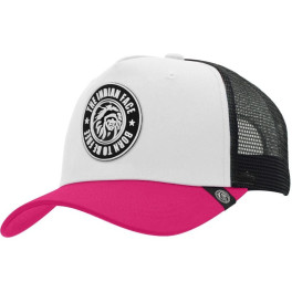 The Indian Face Born To Be Free White / Pink / Black Gorra
