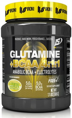 Iron Supplements Glutamina + BCAA 4:1:1 500 gr