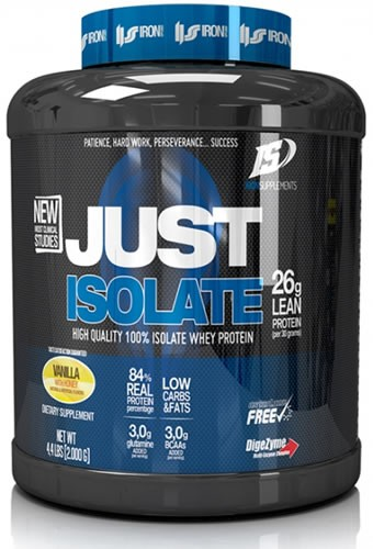 Iron Supplements Just Isolate 2 kg (4,4 lbs)