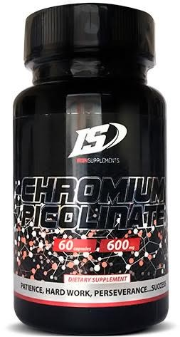 Iron Supplements Picolinato de Cromo - Chromium Picolinate 60 caps