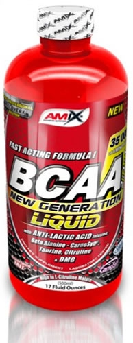 Amix BCAA New Generation 1 botella x 500 ml