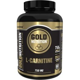 Gold Nutrition L-Carnitina 750 mg 60 caps