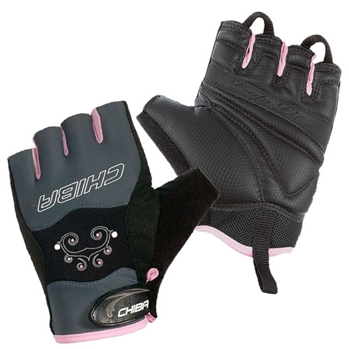 Chiba Lady Diamond Guantes (Gloves) - Gris