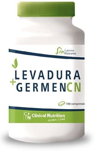 Nutrisport Clinical Levadura + Germen CN 150 comp