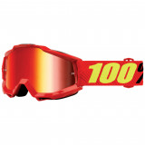100% Accuri Goggle Saarinen Mirror Red Lens