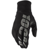 100% Hydromatic Waterproof Glove Black Md