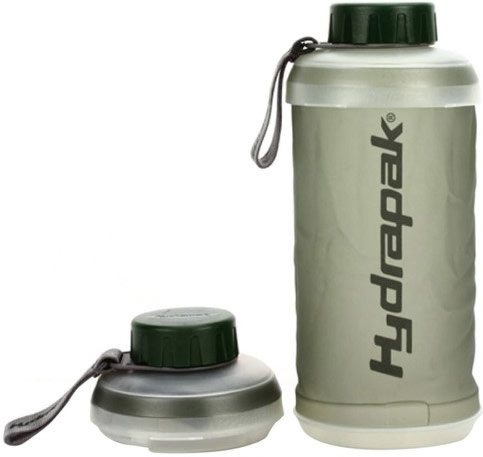 Hydrapak Botella Plegable Stash 750 ml Verde