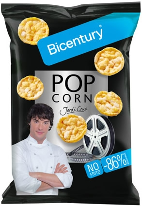 Bicentury Mini Tortitas Pop Corn 70 gr