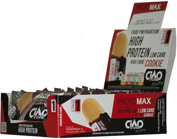 CiaoCarb ProtoMax Galletas Proteicas Stage 1 - 10 galletas x 35 gr