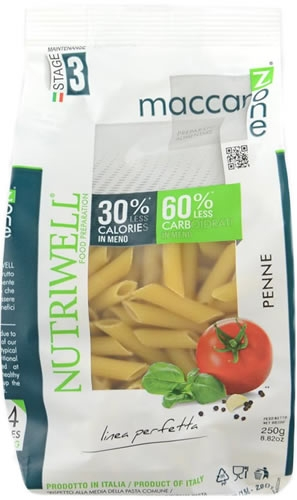 CiaoCarb Maccarozone Penne - Macarrones Fase 3 250 gr