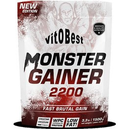 Vitobest Monster Gainer 2200 1,5 Kg Chocolate
