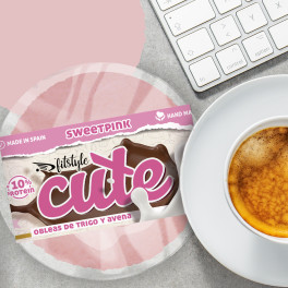 Fitstyle Cute Sweet Pink Obleas Healthy 50g