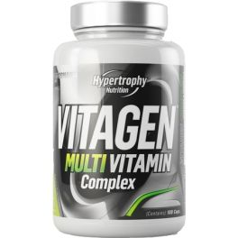 Hypertrophy Nutrition MultiVitagen - Complejo Multivitaminico 100 caps