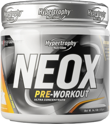 Hypertrophy Nutrition Neox Pre-Workout 400 gr