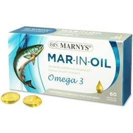 Marnys Aceite Salmon 500 Mg 60 Perl