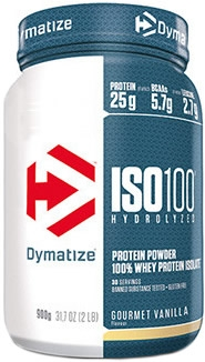 Dymatize ISO 100 Hydrolyzed 900 gr (2 lbs) NEW