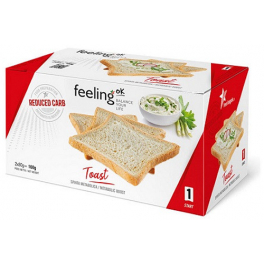 FeelingOk Toast Start Natural 160 gr