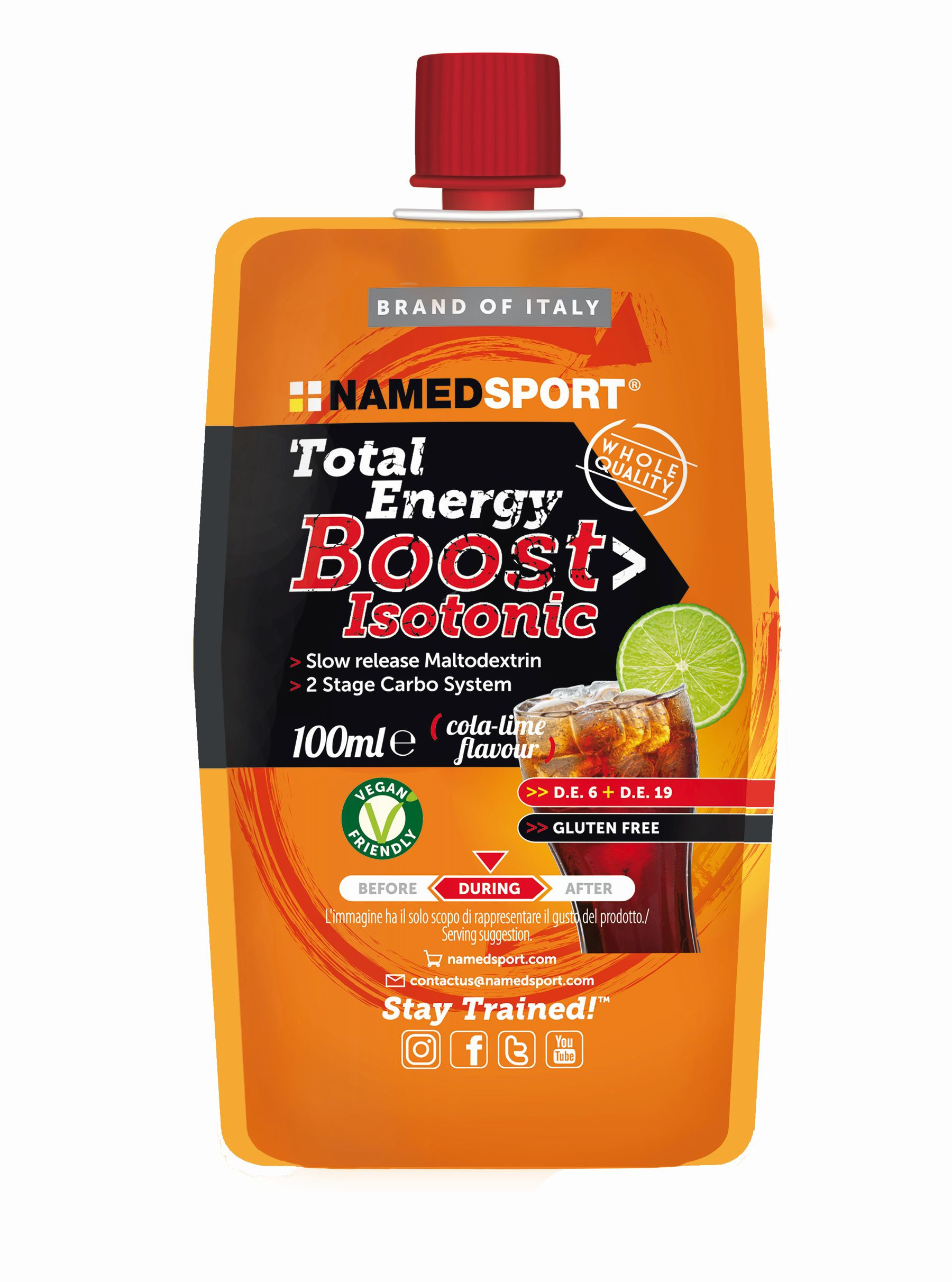 Named Sport Total Energy Boost Isotonic 100 ml