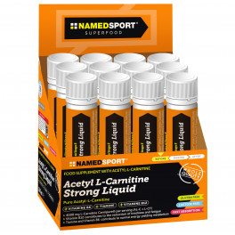 NamedSport Acetyl L-carnitine Strong Liquid 20 ampollas x 25 ml