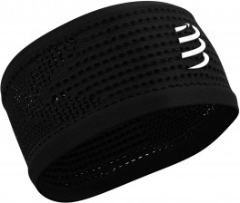 Compressport Cinta para el pelo - HeadBand On/Off - Negra