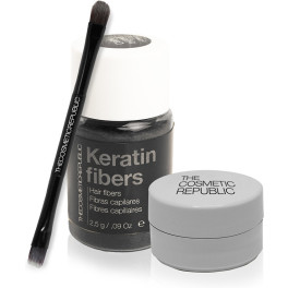 The Cosmetic Republic Natural Brows Kit Dark Brown Unisex