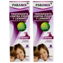 Cad.30/08/19 Paranix Spray Tratamiento contra Piojos y Liendres Pack Familiar 2 botes x 100 ml