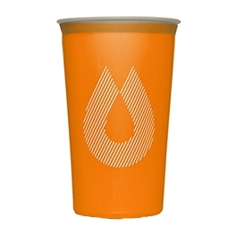 Hydrapak Vaso Plegable Speedcup 200 ml Naranja