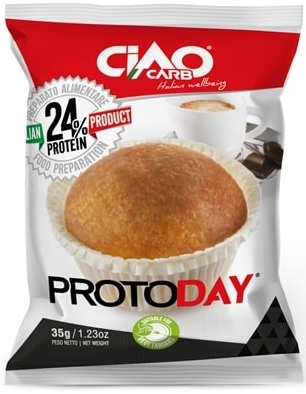 CiaoCarb ProtoDay Muffin Fase 1 - 1 muffin x 35 gr