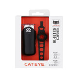 Cateye Kit Luces Faro El135/orb