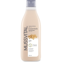 Mussvital Essentials Gel de Baño Avena 100 ml