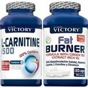 Pack Quema Grasas - Victory (L-Carnitina 1500 100 caps) + (Fat Burner 120 caps)