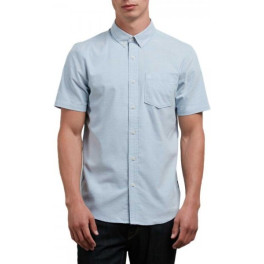 Volcom Camisa Everett Oxford Wrecked Indigo