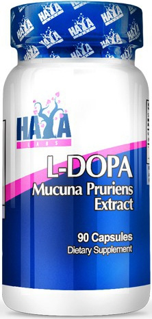 Haya Labs L-Dopa Mucuna Pruriens Extracto 90 caps