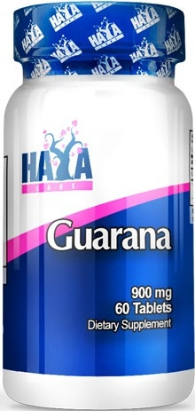 Haya Labs Guarana 900 mg 60 tabs