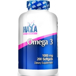 Haya Labs Omega 3 1000 mg 200 caps