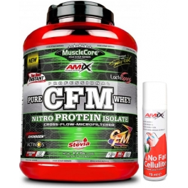 Pack Amix MuscleCore CFM Nitro Protein Isolate 2 kg + No Fat & Cellulite Gel 75 ml