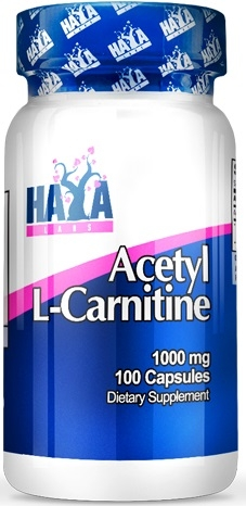 Haya Labs Acetyl L-Carnitine 100 caps
