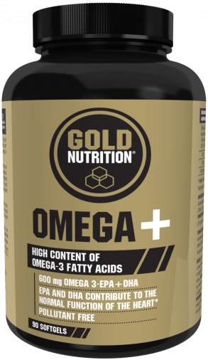 Gold Nutrition Omega + 90 caps