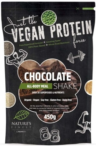 Nutrisslim Natures´s Finest Bio Chocolate All-Body Meal Shake 450 gr