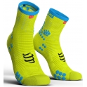 Compressport Calcetines Pro Racing Socks V3.0 Run High Amarillo Fluor