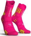 - Compressport Calcetines Pro Racing Socks V3.0 Trail Rosa Fluor T3