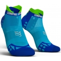 - Compressport Calcetines Pro Racing Socks V3.0 Ultra Light Run Low Azul Fluor  T4