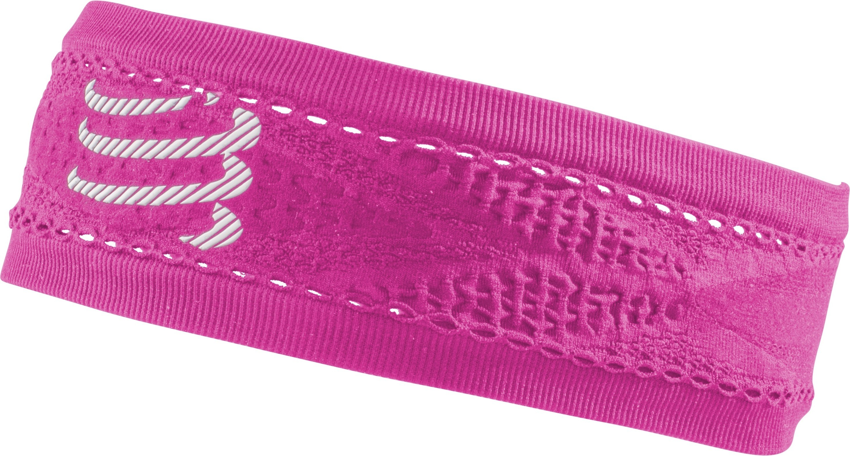 Compressport Cinta Thin HeadBand On/Off Rosa Fluor