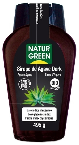 NaturGreen Sirope de Agave Dark Bio 360 ml
