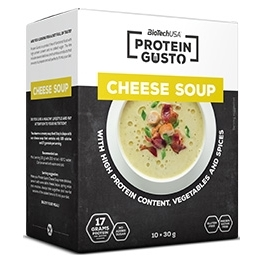 BioTechUSA Protein Gusto - Cheese Soup 10 sobres x 30 gr