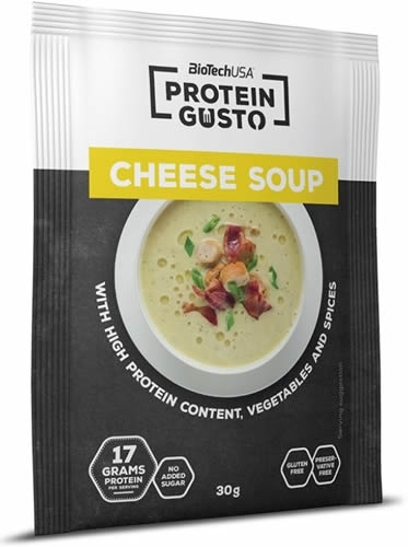 BioTechUSA Protein Gusto - Cheese Soup 1 sobre x 30 gr
