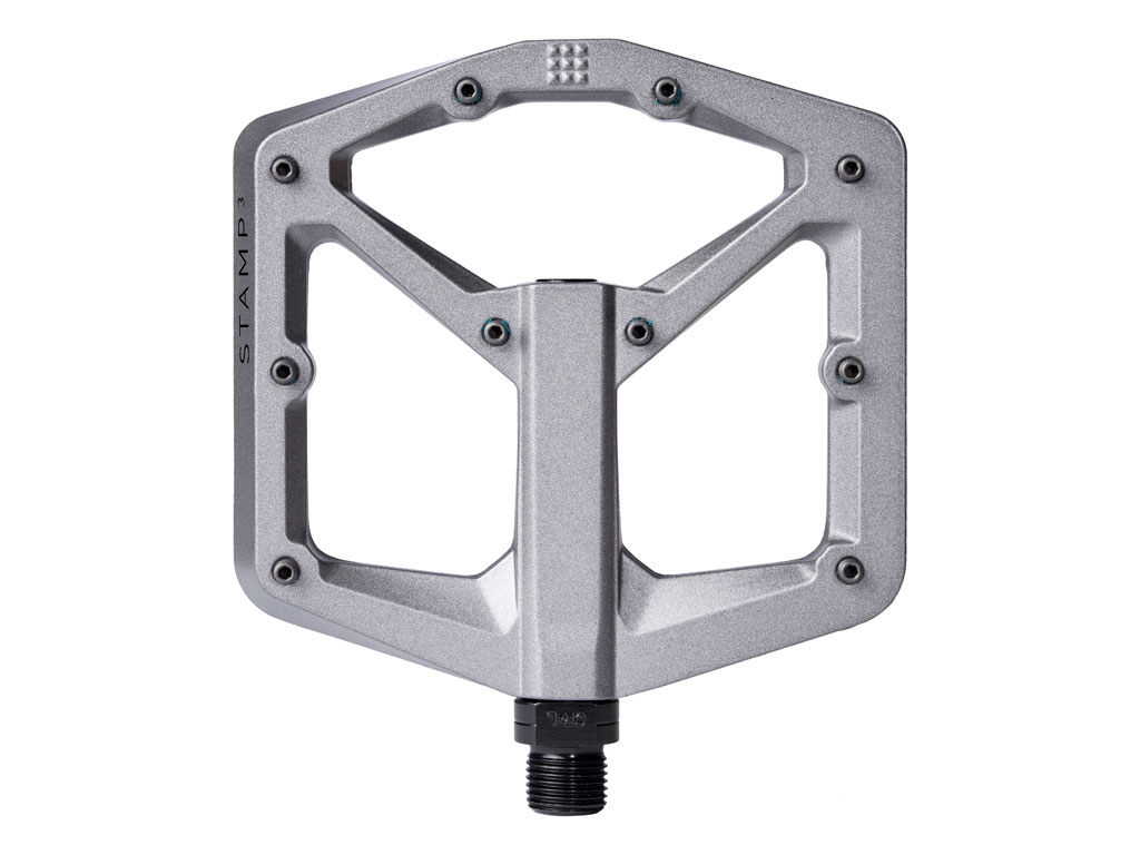 Crankbrothers Pedal Stamp 3 Large Grey Magnesio Nuevo