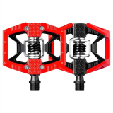 Crank Brothers Pedales Double Shot Rojo