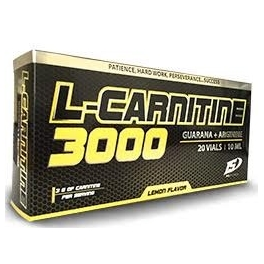 Iron Supplements L-Carnitina 3000 Guarana+Arginina 20 viales
